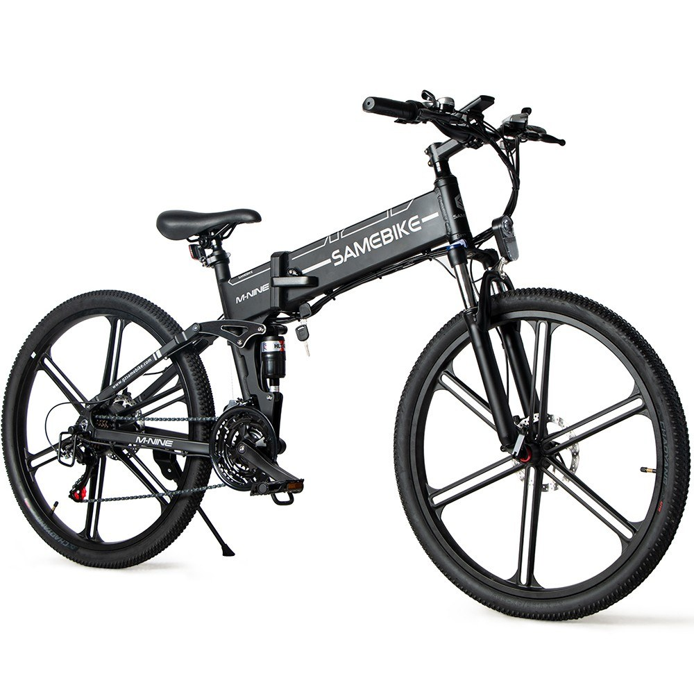 tomtop.com - [EU Warehouse] $539 OFF Samebike LO26-II 26Inch Folding Electric Bicycle with 500W Brushless Motor, $1023.52 (Inclusive of VAT)