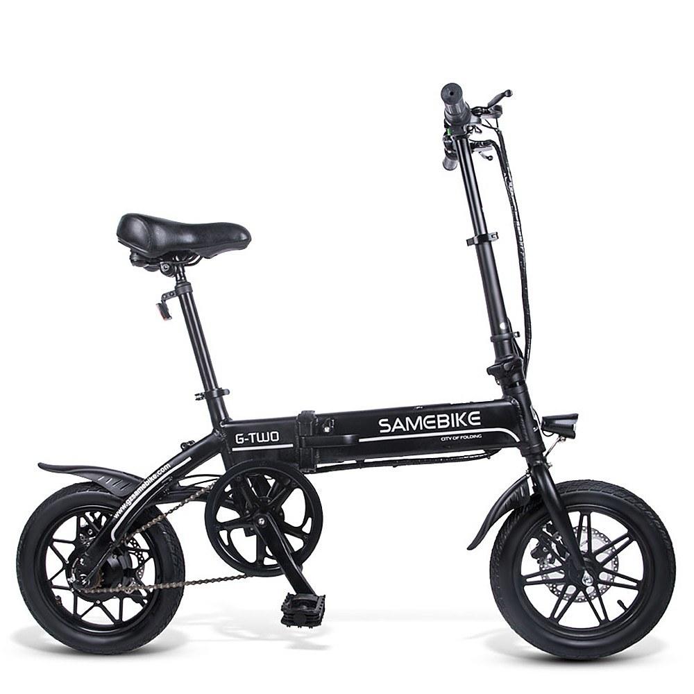 Cafago - 40% OFF Samebike YINYU14 Electric Bike 36V 250W High Speed,free shipping+$506.09