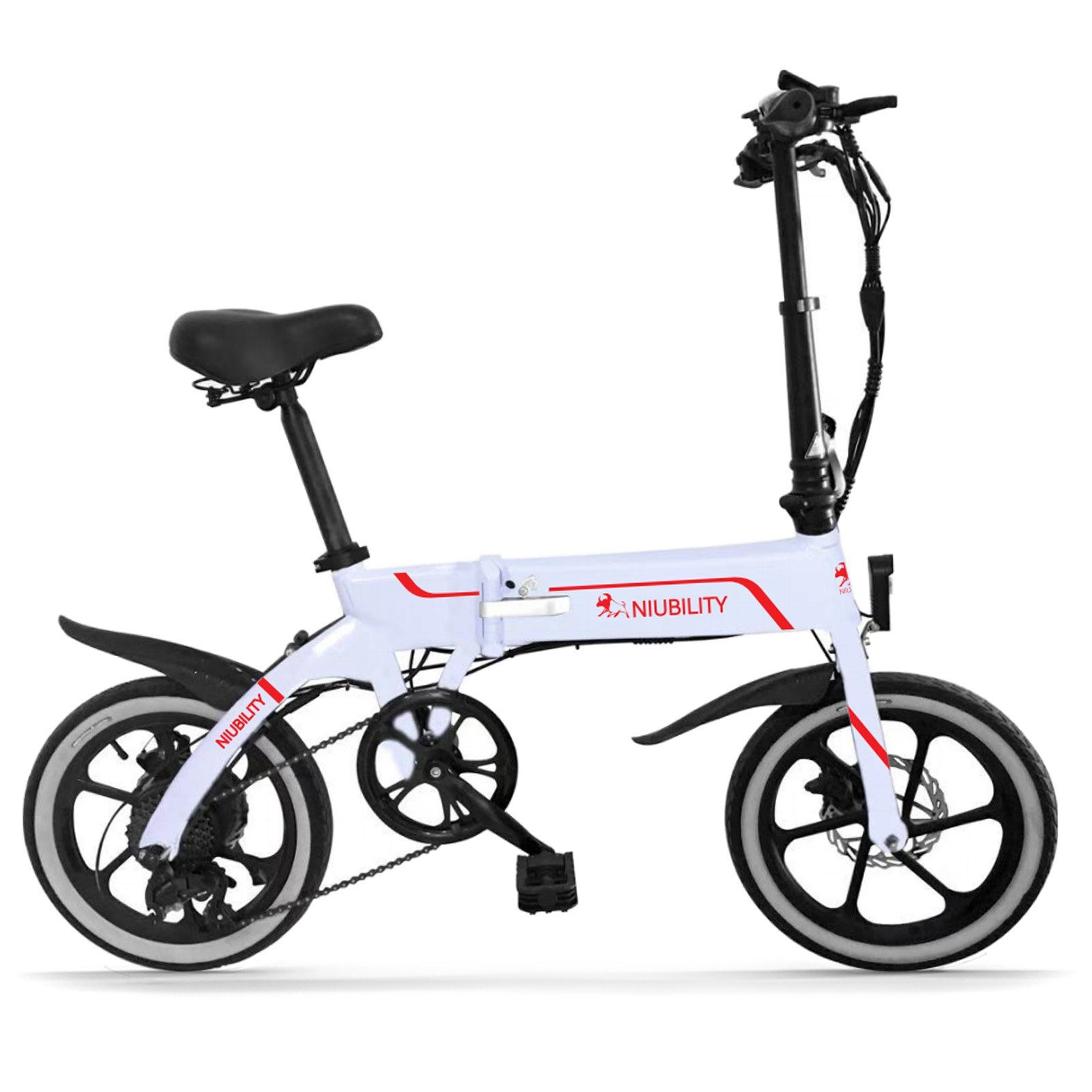 Tomtop - [EU Warehouse] $260 OFF Niubility B16 16 Inch Folding Electric Bicycle 350W 10.4Ah, Free Shipping $639 (Inclusive of VAT)