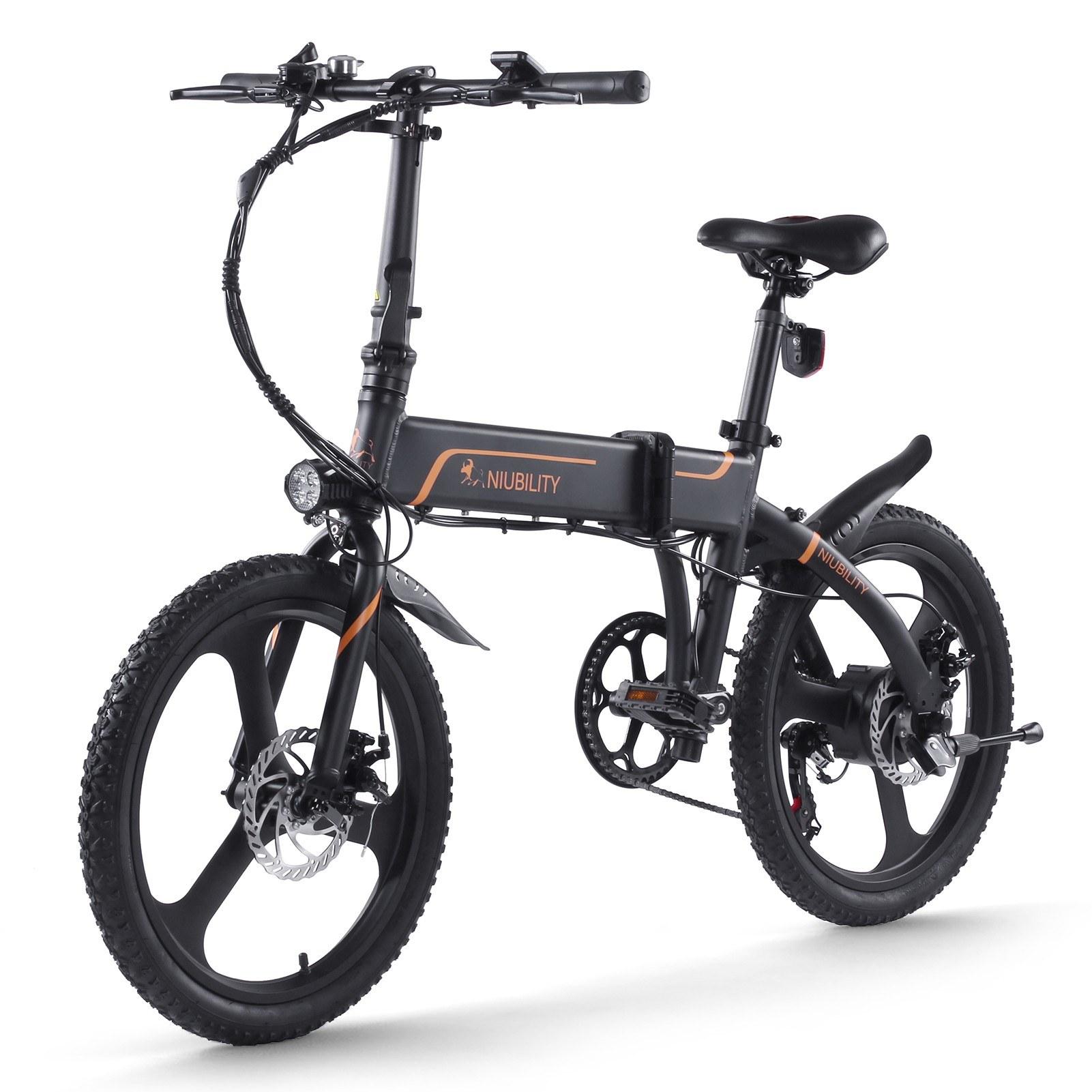 cafago.com - 32% OFF Niubility B20 20 Inch Folding Electric Bicycle 350W 40-50km Range,free shipping+$849.15