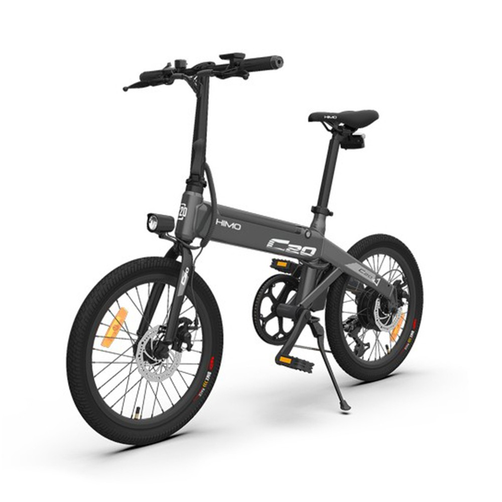 tomtop.com - $25.5 OFF HIMO C20 20 Inch Folding 80KM Range Power Assist Electric Bicycle, Limited Offers €739.49