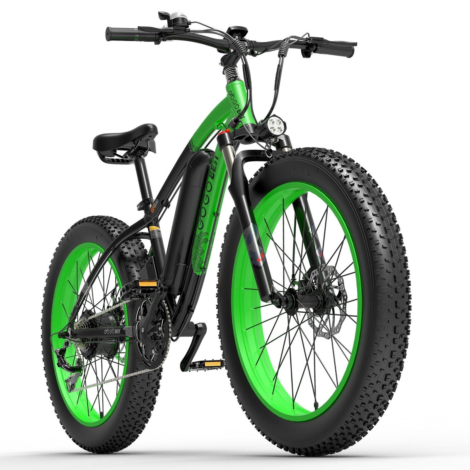cafago.com - 40% OFF GOGOBEST GF600 1000W Power Assist Electric Bicycle,free shipping+$1443.56