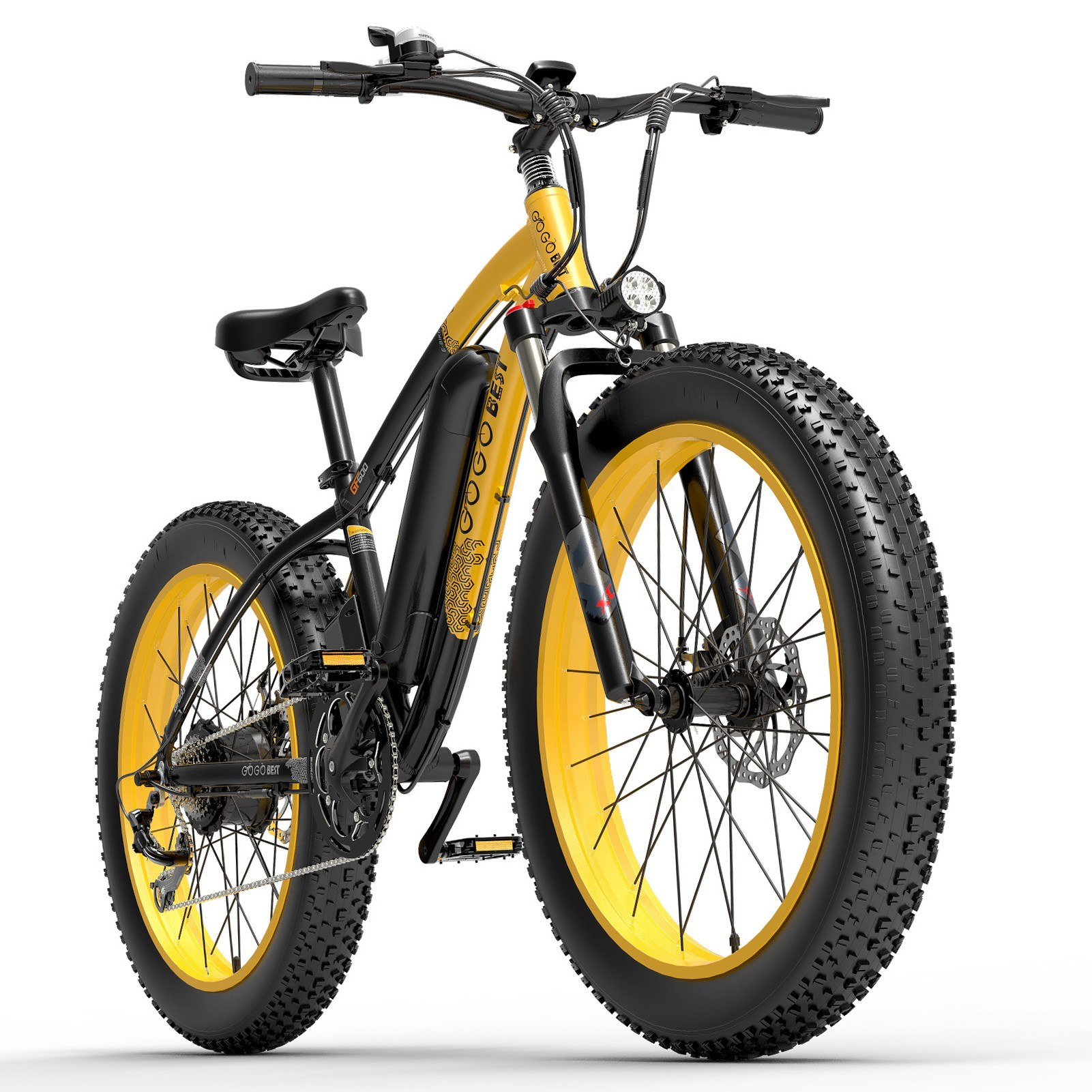 tomtop.com - [EU Warehouse] GOGOBEST GF600 1000W Power Assist Electric Bicycle, $1411.75 (Inclusive of VAT)