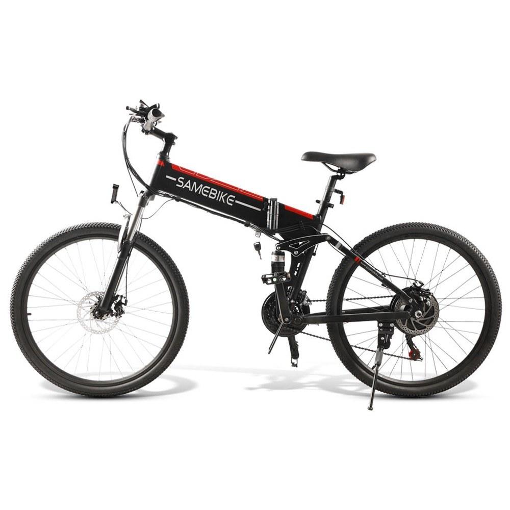 Cafago - 24% OFF Samebike LO26 Electric Bike 500W 26 Inch Folding Electric Bicycle,free shipping+$974.23