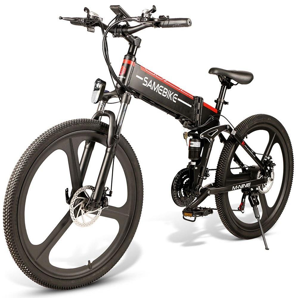 cafago.com - 19% OFF Samebike LO26 Electric Bike 48V 350W Motor,free shipping+$972.97