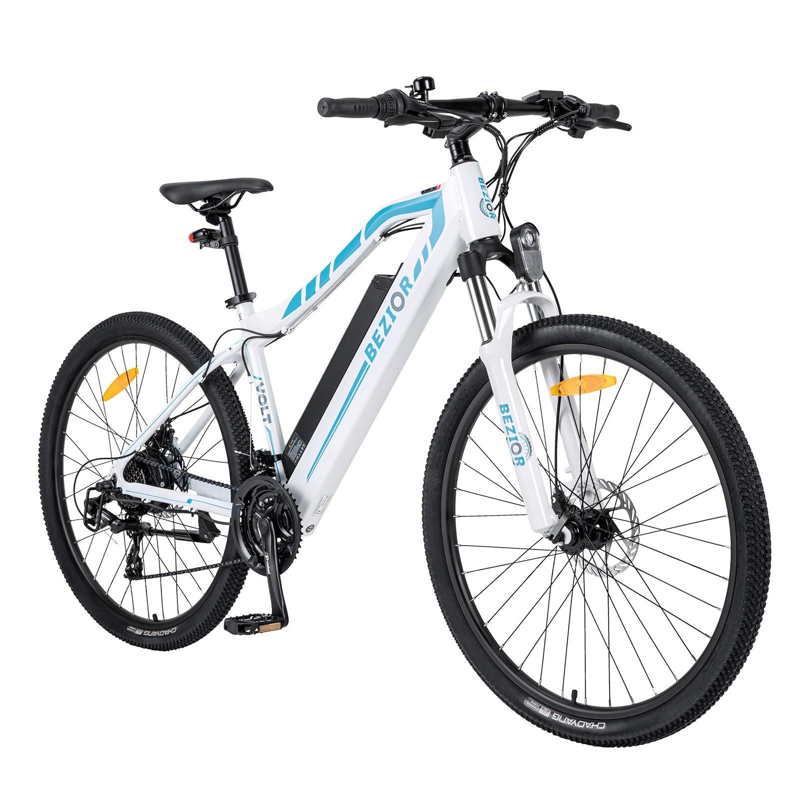 cafago.com - 56% OFF BEZIOR M1 27.5 Inch 250W Power Assist Electric Bike,free shipping+$1058.45