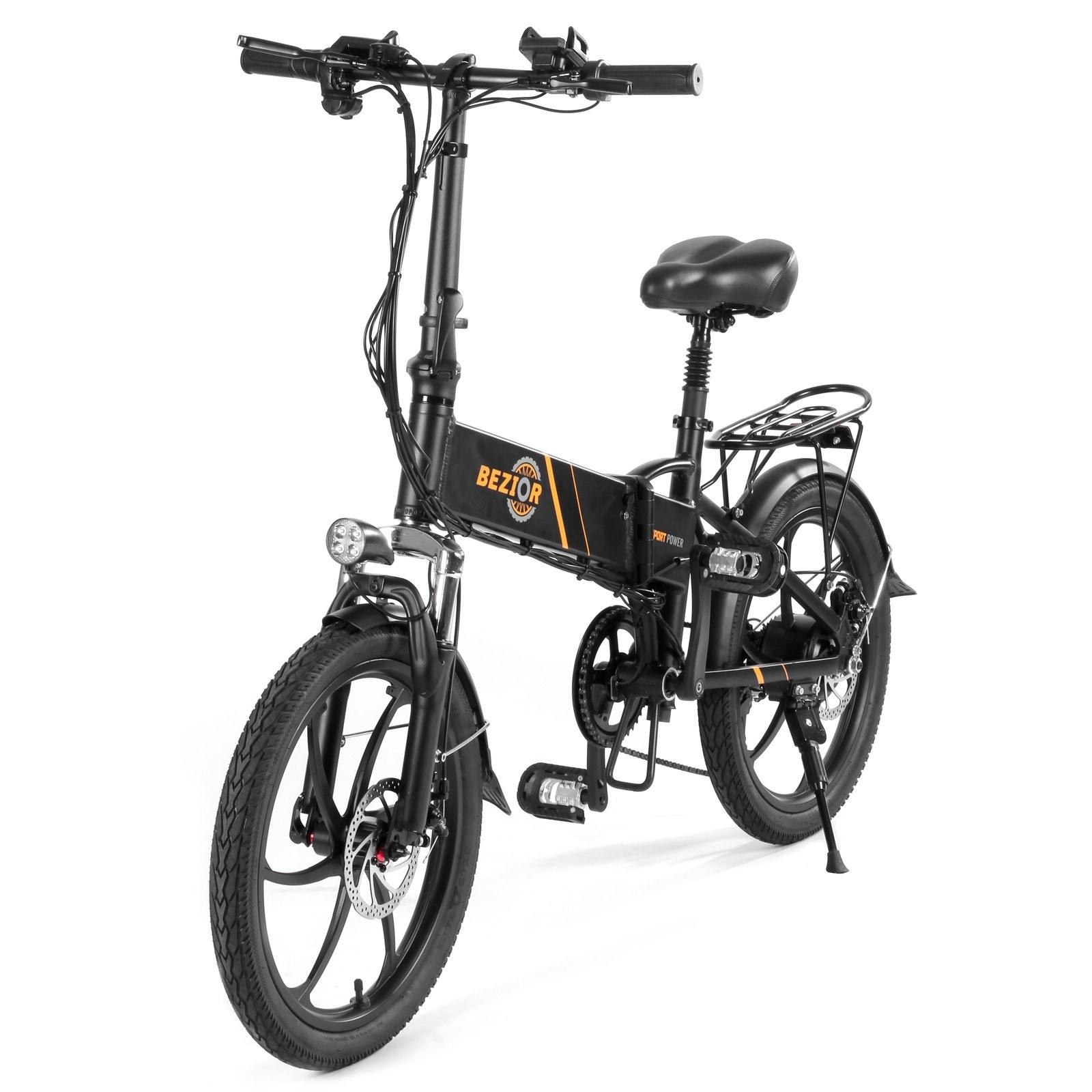 tomtop.com - [EU Warehouse] $175 OFF BEZIOR M20 350W 20 Inch Folding Power Assist Electric Bike, $789.99 (Inclusive of VAT)