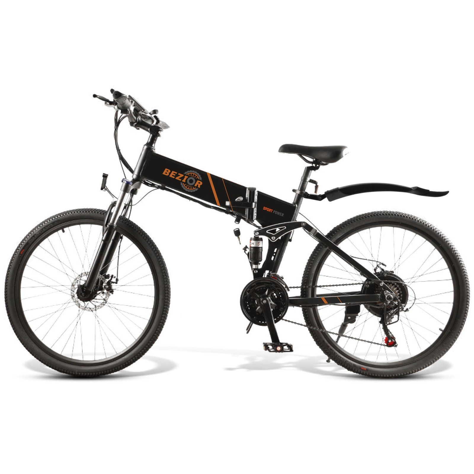 tomtop.com - [EU Warehouse] 50% OFF BEZIOR M26 500W 26 Inch Folding Electric Bicycle, $945.99 (Inclusive of VAT)
