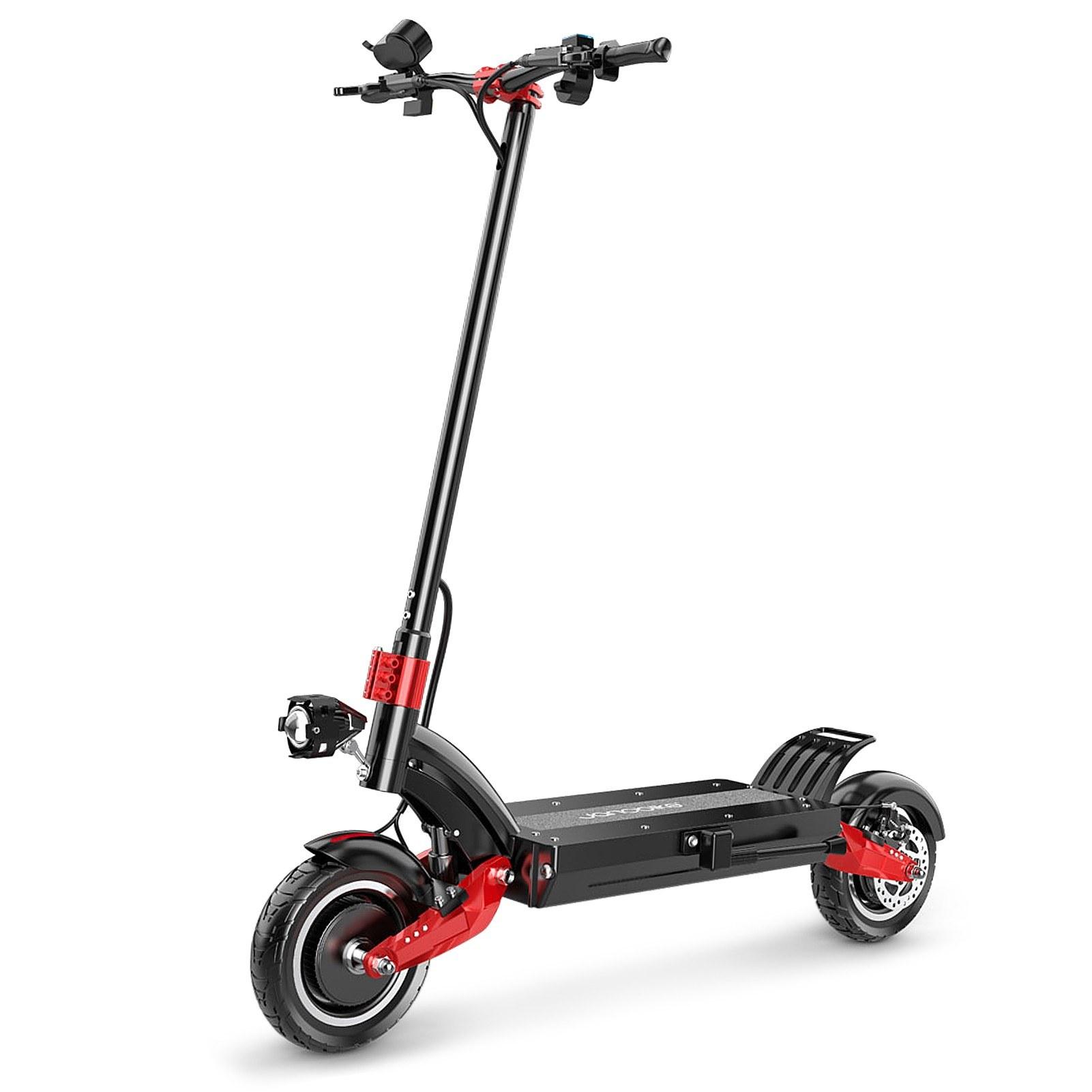 cafago.com - 46% OFF Janobike X10 10inch Wheels 1200W Dual Motor Electric Scooter,free shipping+$1219.91