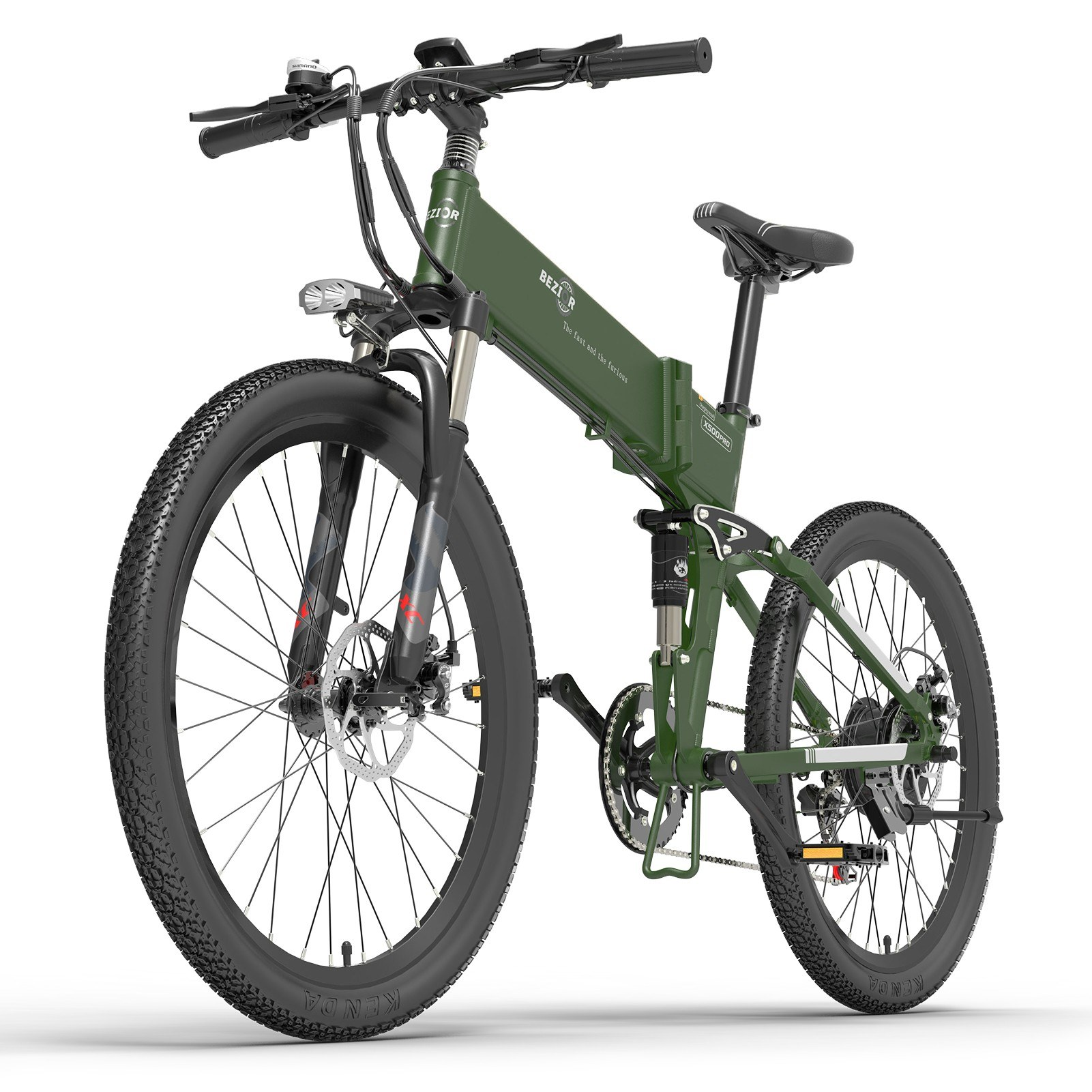 tomtop.com - [EU Warehouse] 43% OFF BEZIOR X500Pro 500W 26 Inch Folding Power Assist Electric Bicycle, $1070.80 (Inclusive of VAT)
