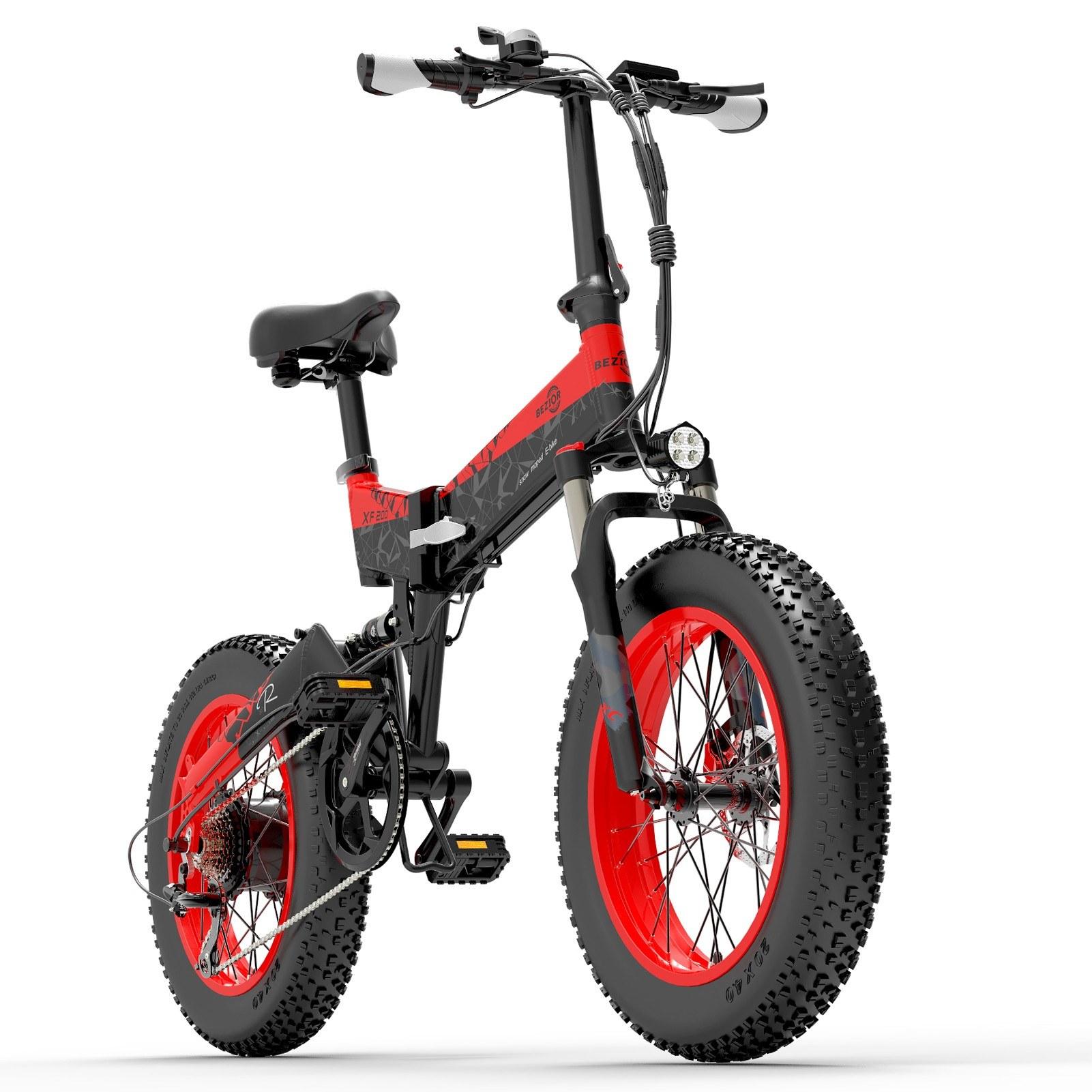 Cafago - 39% OFF BEZIOR XF200 1000W Motor Folding Electric Moped Bike,free shipping+$1442.38