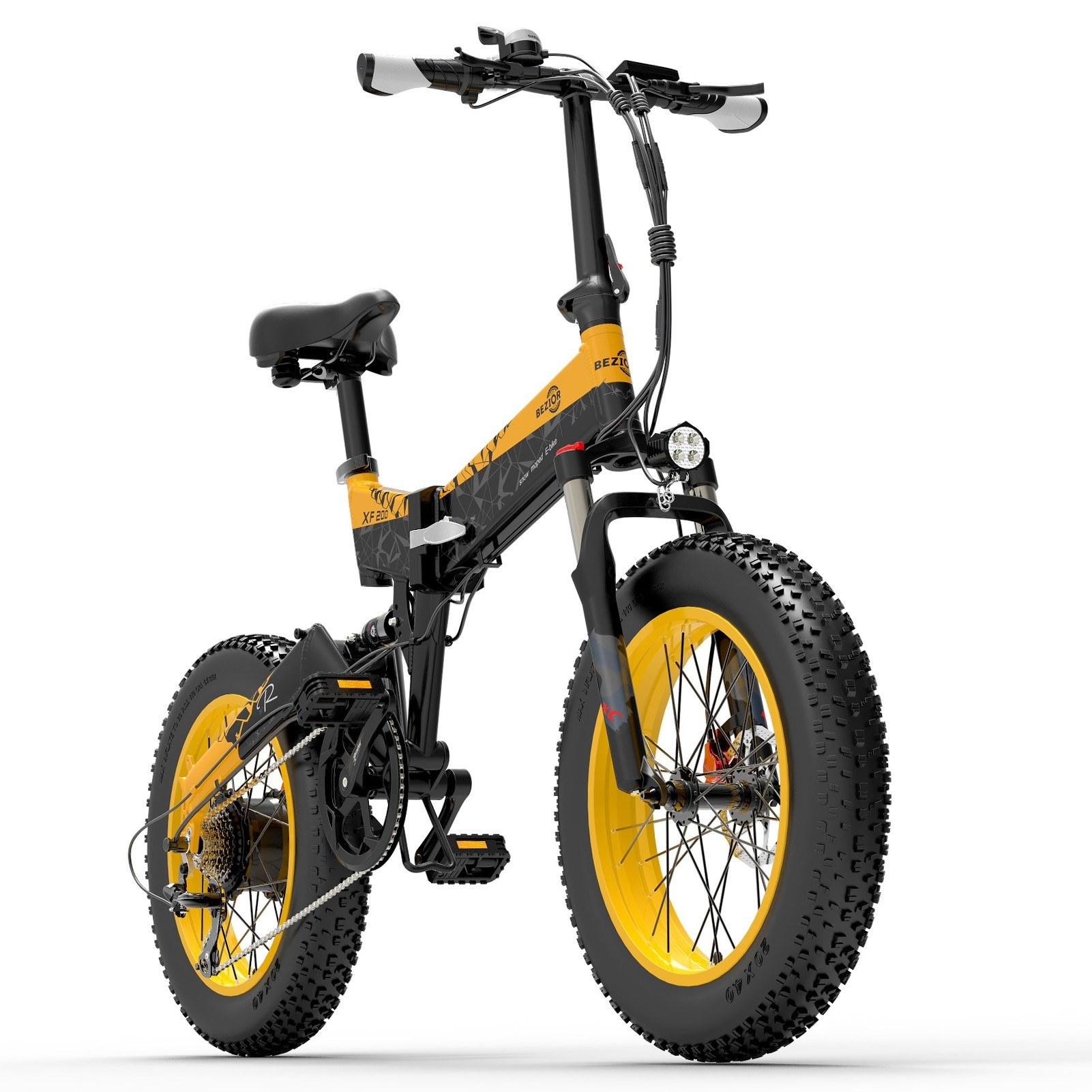 tomtop.com - [EU Warehouse] $485 OFF BEZIOR XF200 1000W Motor Folding Electric Moped Bike, $1480 (Inclusive of VAT)