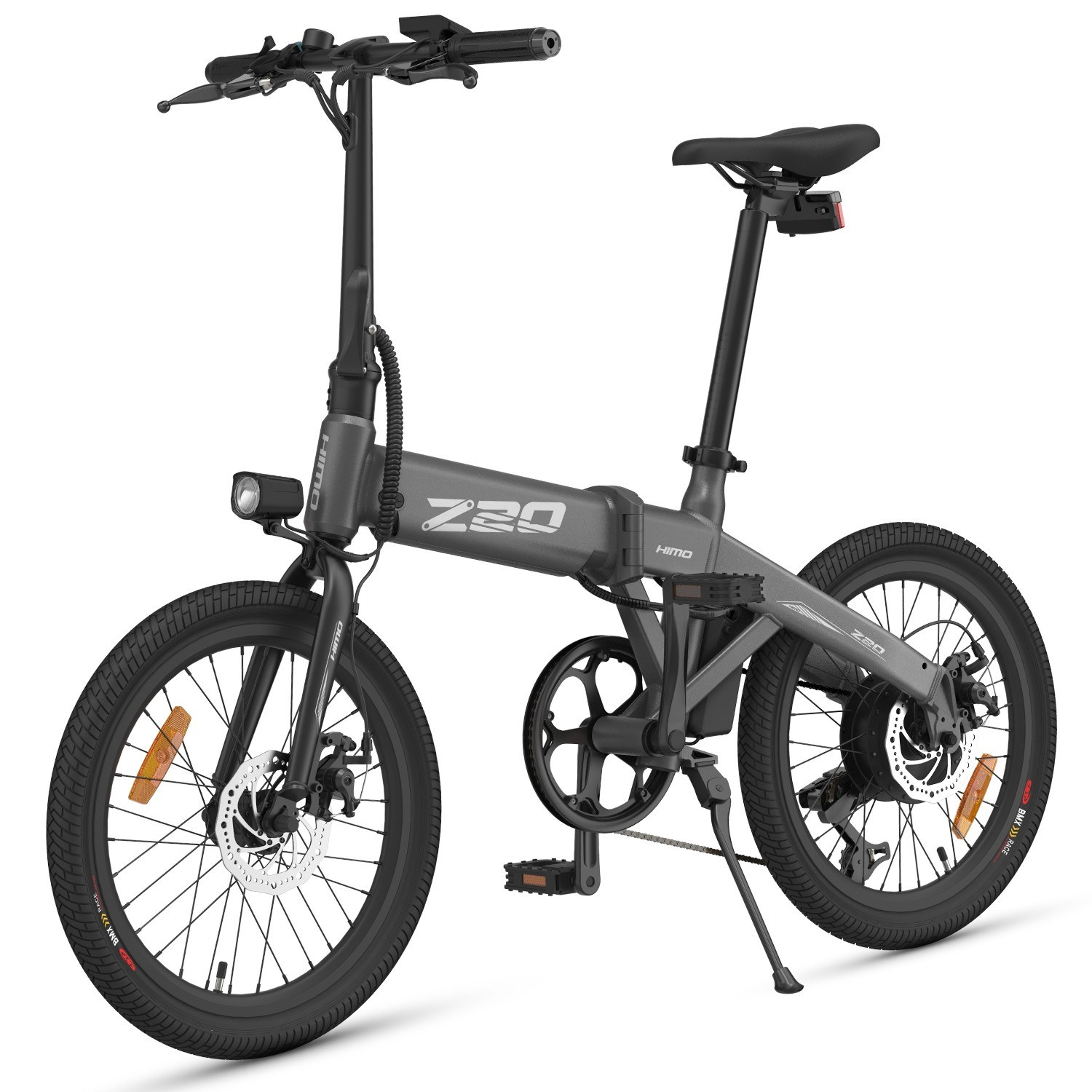 cafago.com - 16% OFF HIMO Z20 20 Inch Folding Power Assist Electric Bicycle 80KM Range,free shipping+$894.55