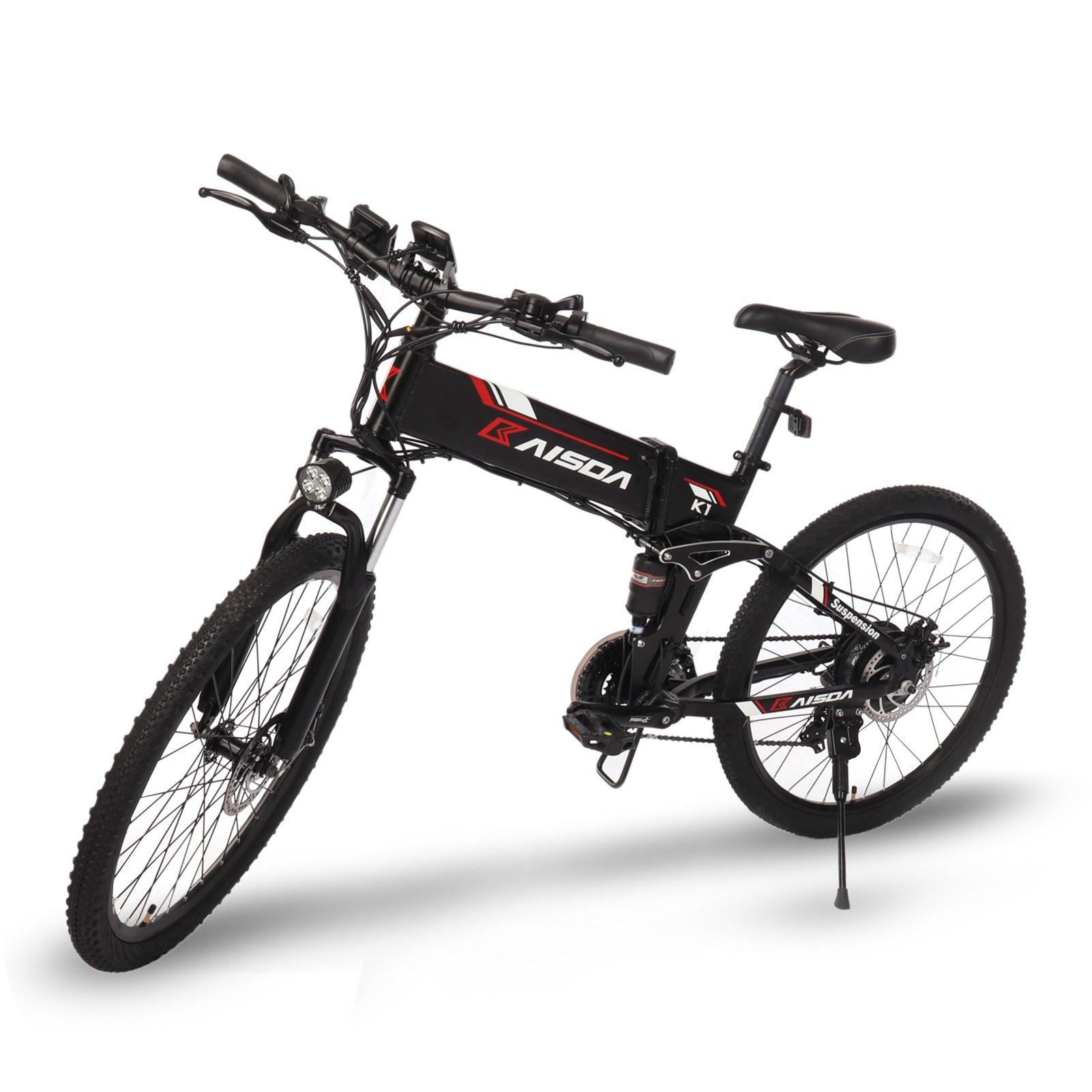 tomtop.com - [EU Warehouse] 45% OFF KAISDA K1 26 Inch Folding Electric Bike 48V 10.4AH 500W, $1038.81 (Inclusive of VAT)