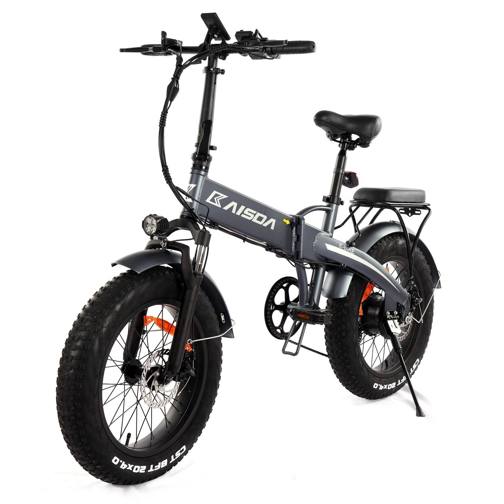 tomtop.com - [EU Warehouse] 43% OFF KAISDA K2 Folding Electric Bike with 20*4.0 Fat Tire 48V 10AH 500W, $1139.99 (Inclusive of VAT)