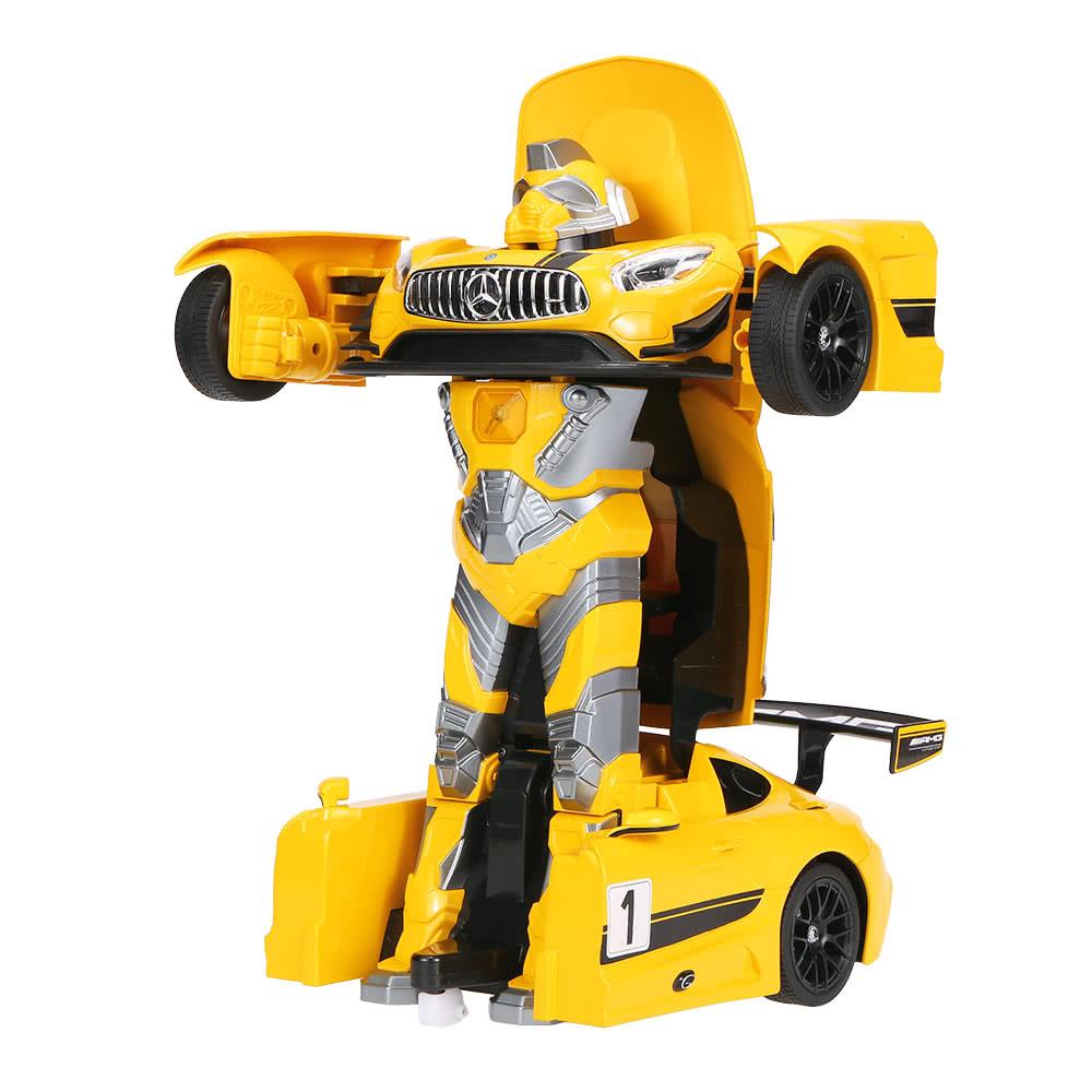 beste original mercedes benz amg gt3 transformable auto roboter gelb verkauf online einkaufen. Black Bedroom Furniture Sets. Home Design Ideas