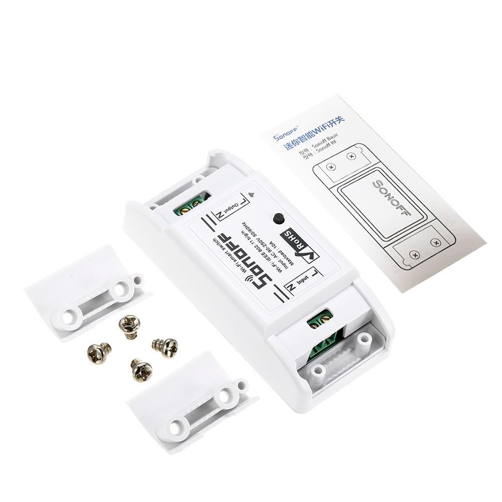 SONOFF Basic Wifi Switch Works with Alexa
