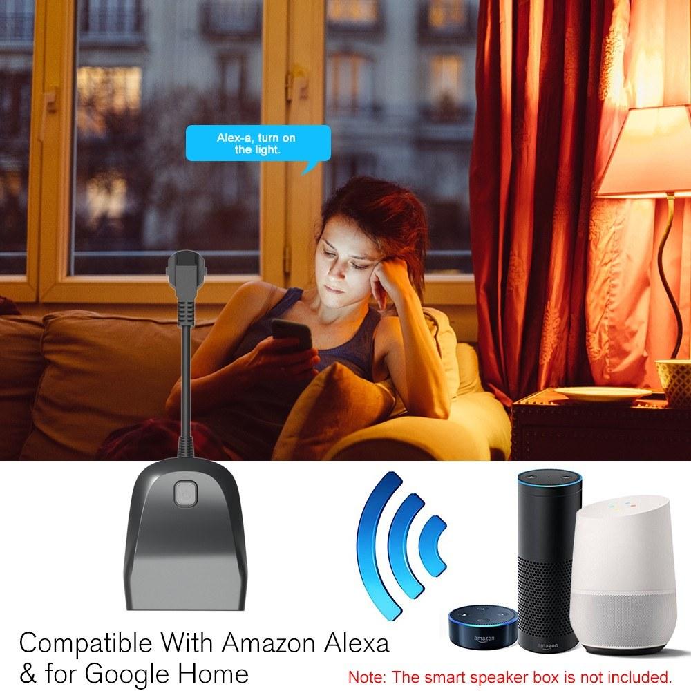 Smart WiFi Socket 1 In 2 Out Wireless Switch Outdoor Weatherproof Smart EU  Plug Sales Online - Tomtop
