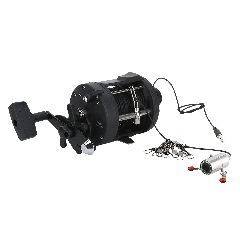 4.3 Inch Underwater Fishing Video Camera Kit IR LED With Explosion Fishing Hooks
