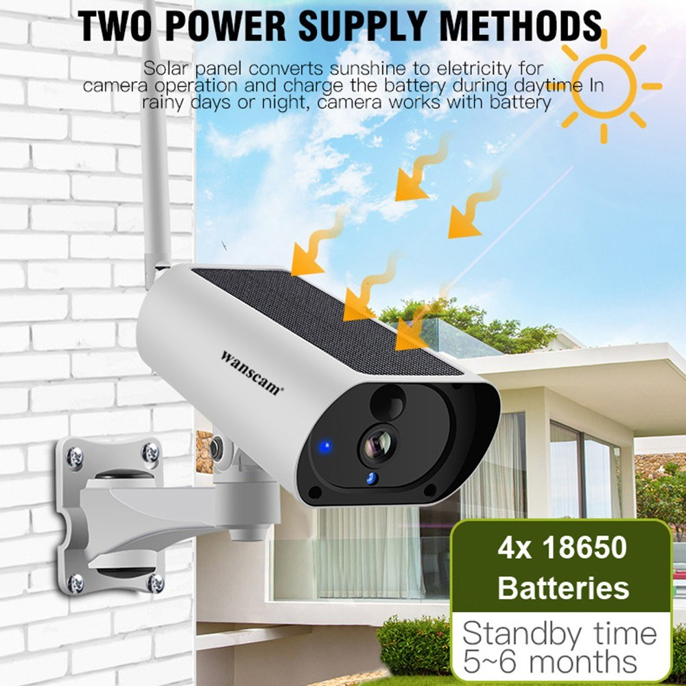 wanscam 1080P Solar IP Camera