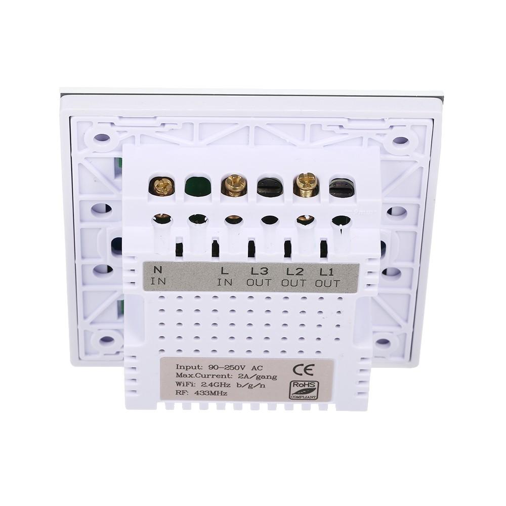 Sonoff T1 1 Gang Smart Wifi Wall Light Uk Switch Sales Online Wiring L1 L2 L3