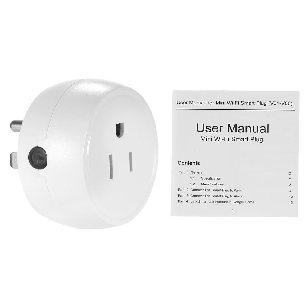 1PCS Wireless WIFI Smart Plug US Outlet Sales Online 1# - Tomtop