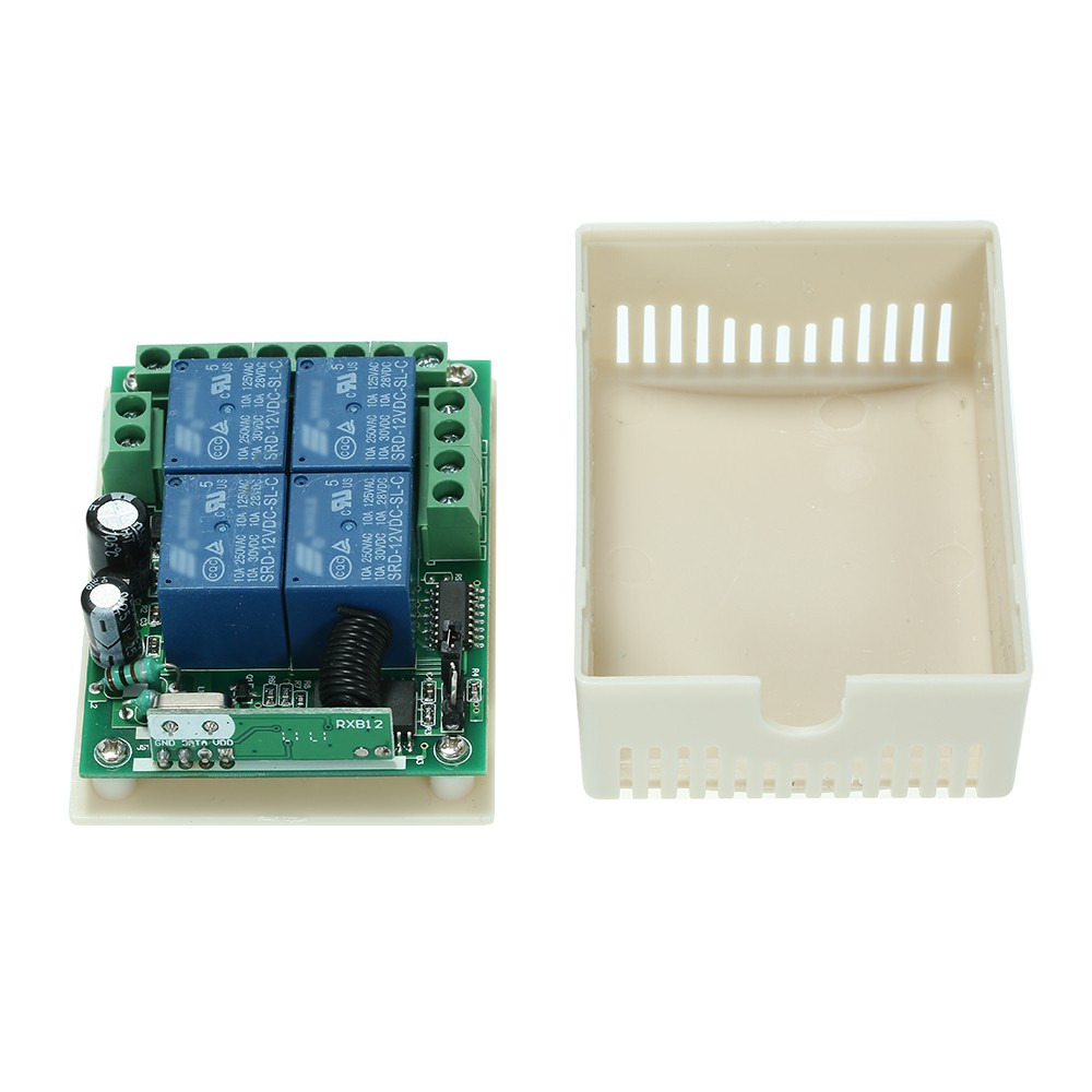 Smart Home 433mhz Dc 12v 4ch Wireless Remote Switch Sales Online 1 Fuse Box Tomtop