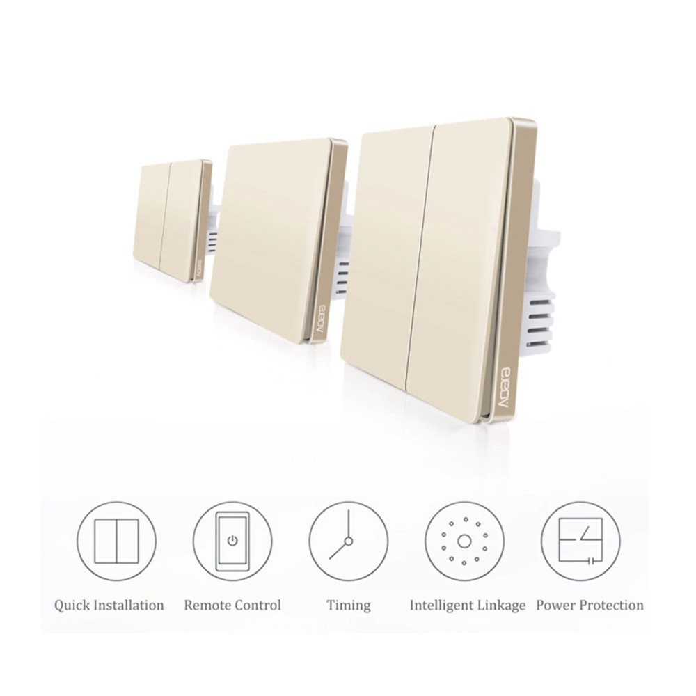 Aqara QBKG04LM Wall Switch Intelligent Home Switching Remote Control