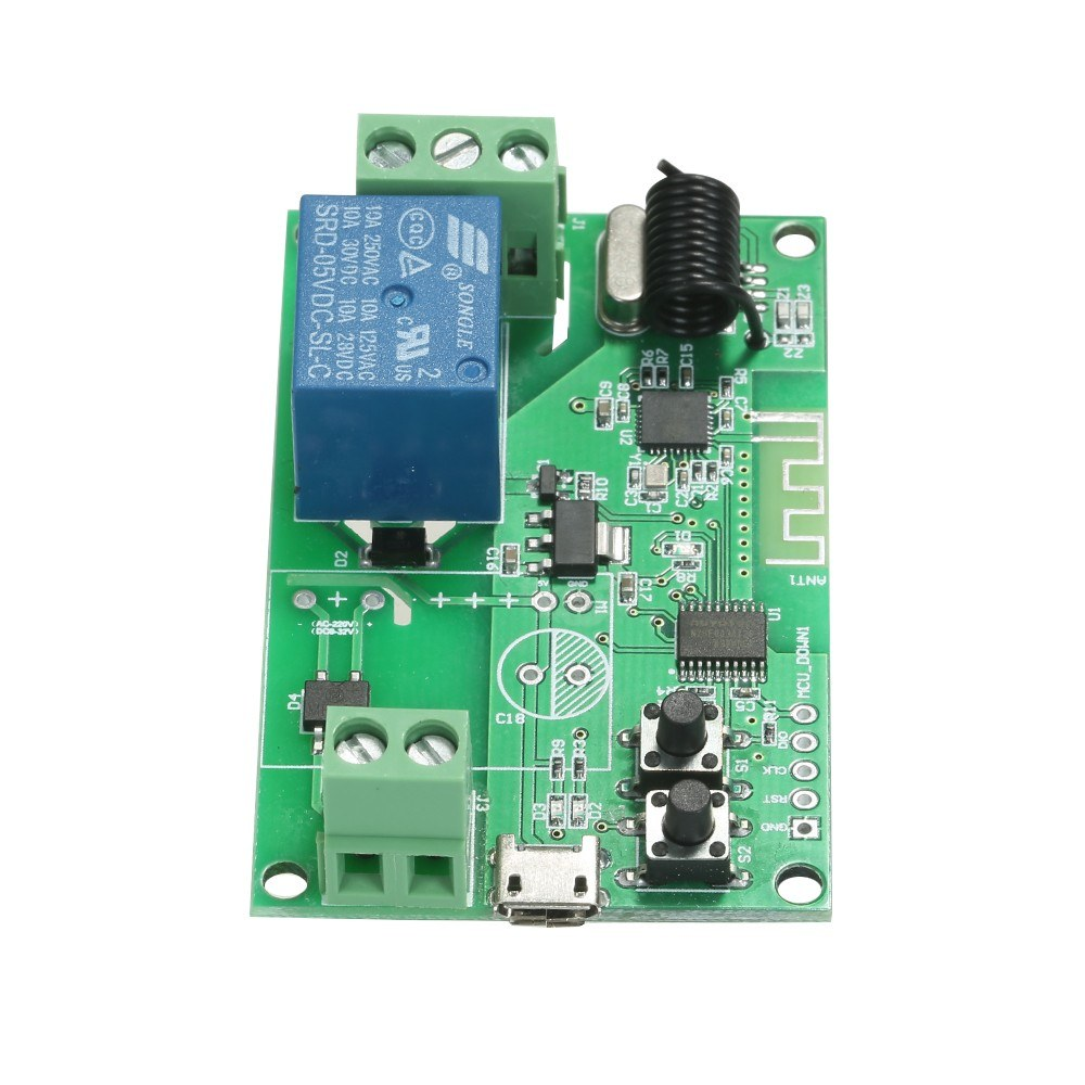 eWeLink 5V / 12V / 220V Wifi Switch Wireless Relay Module Sales Online 1 -  Tomtop