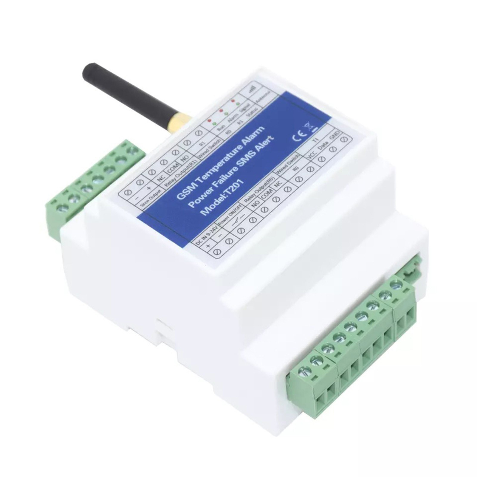 GSM Remote Relay Switch Access Controller