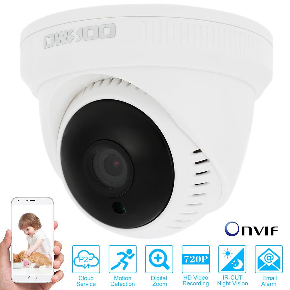 R seau de surveillance de s curit cctv cam ra owsoo hd for Interieur smart 2000