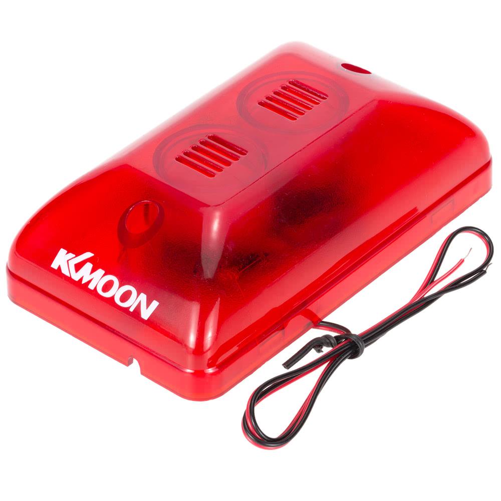 Sensor Fire Alarm Sound : Best kkmoon fire alarm siren wired sound strobe alert