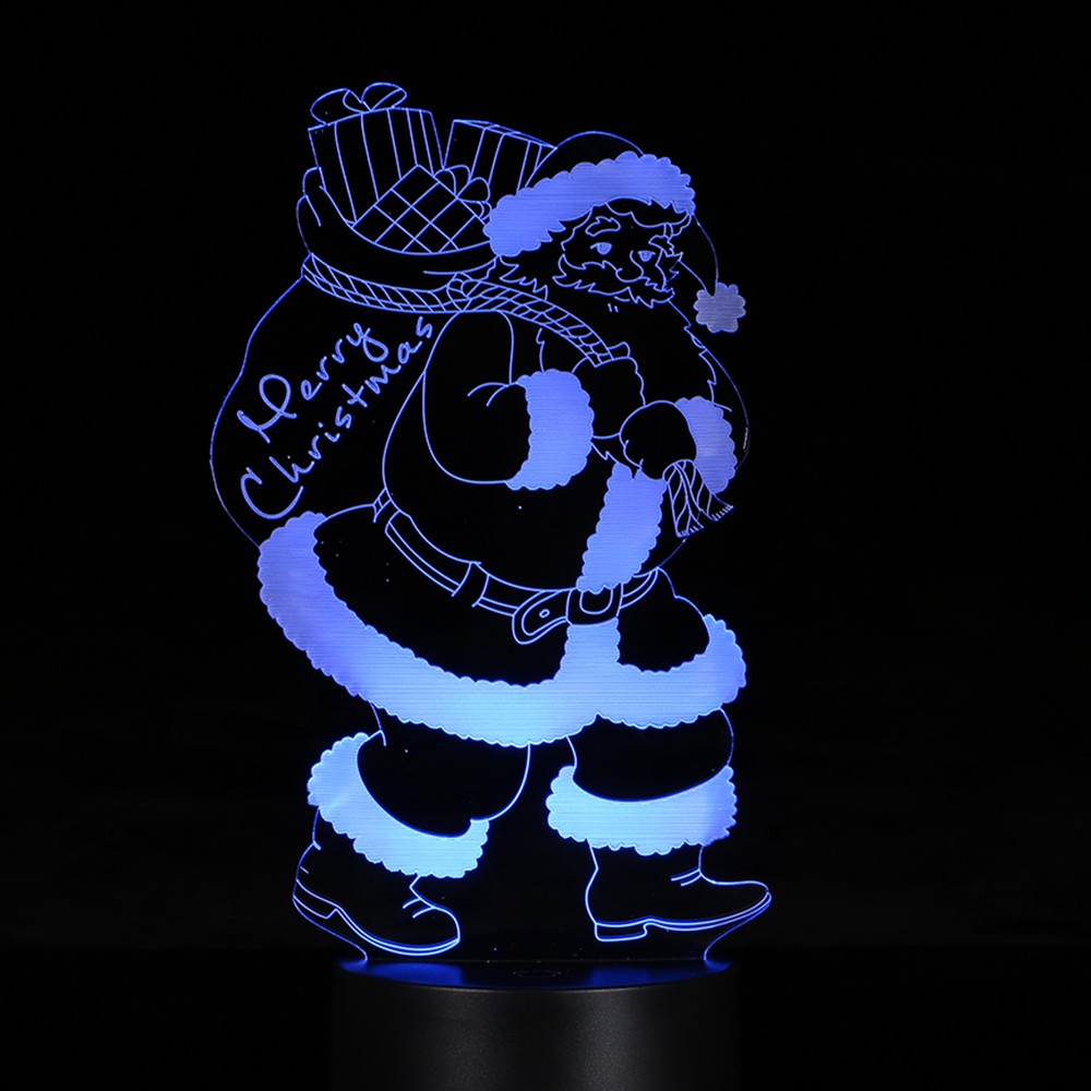 $2.08 OFF 3D LED Illusion Colorful Table Night Light,free shipping $10.91