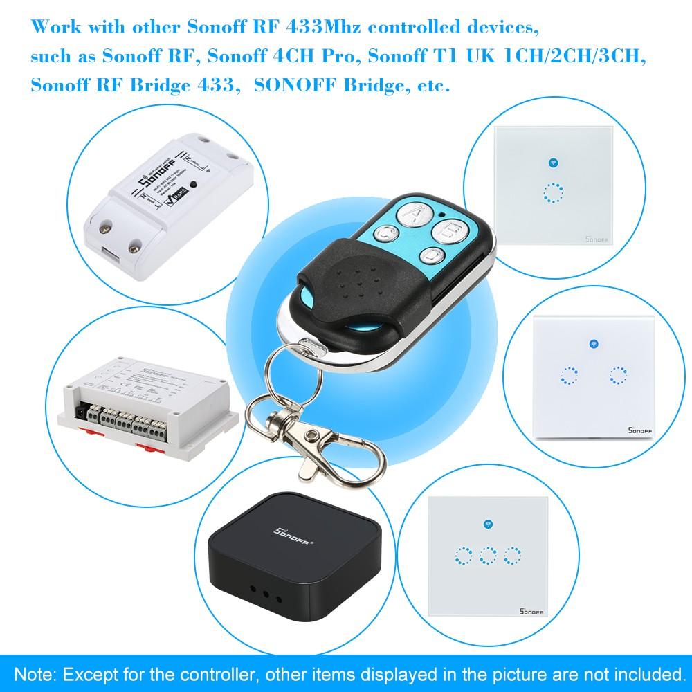 SONOFF RF Remote Controller ITEAD 433MHz Wireless Control