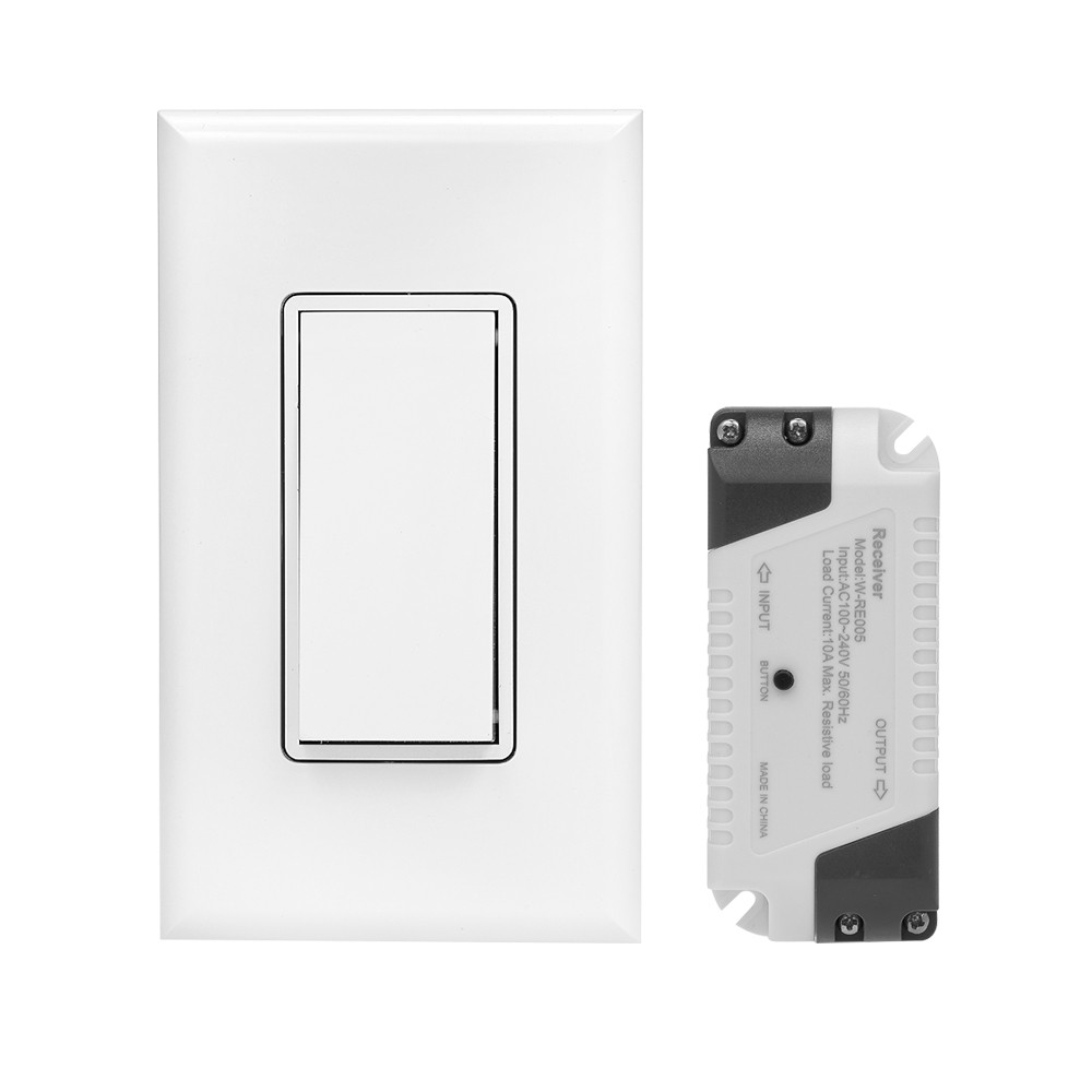 3 Wege Wireless WiFi Licht Self-Powered Fernbedienung Schalter ...