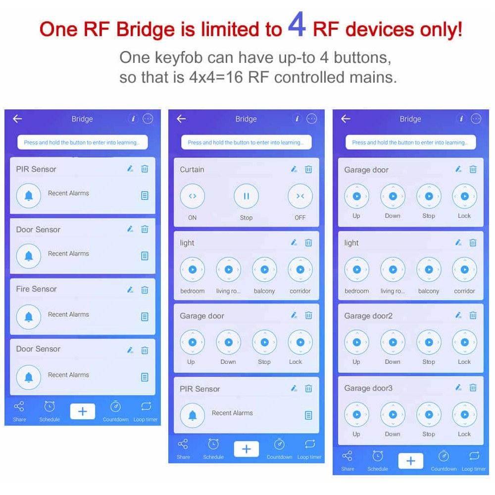 SONOFF RF Bridge 315MHz Smart Home Automation Module