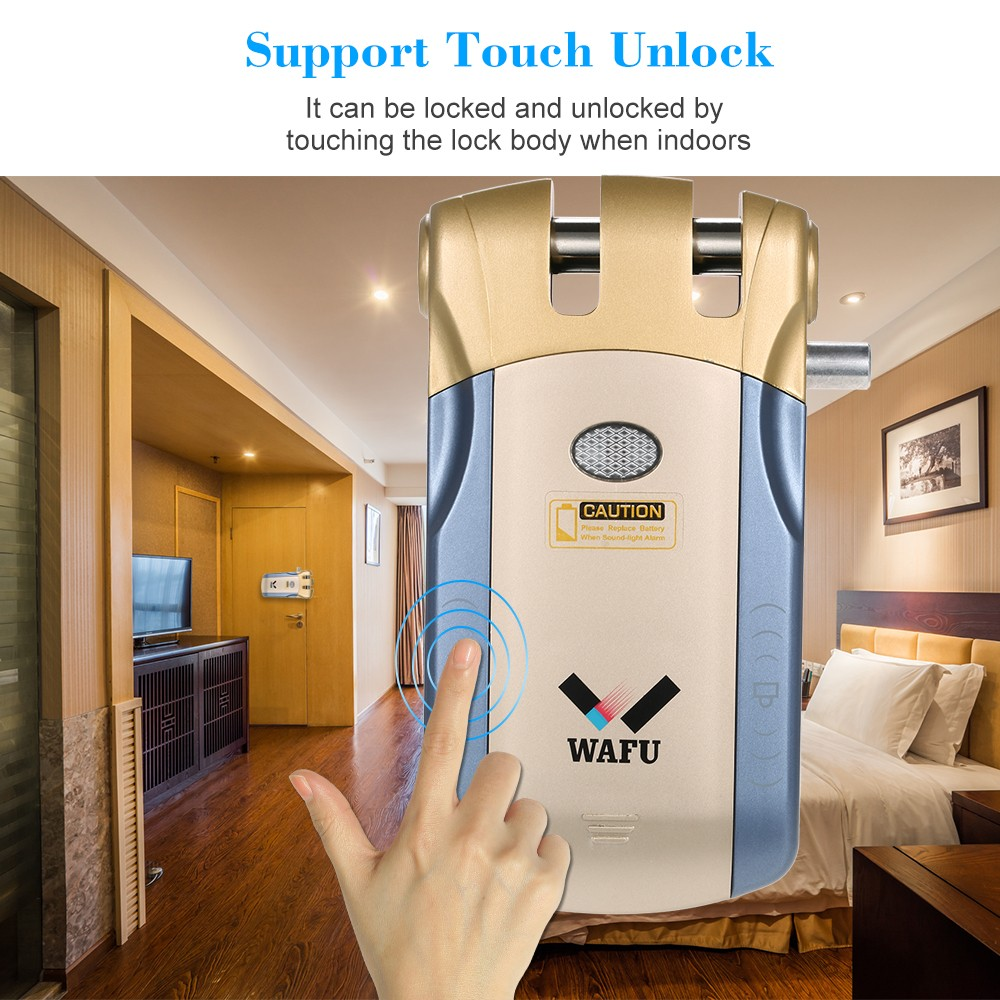 10 Off Wafu Wireless Security Invisible Keyless Entry Door Free Shipping