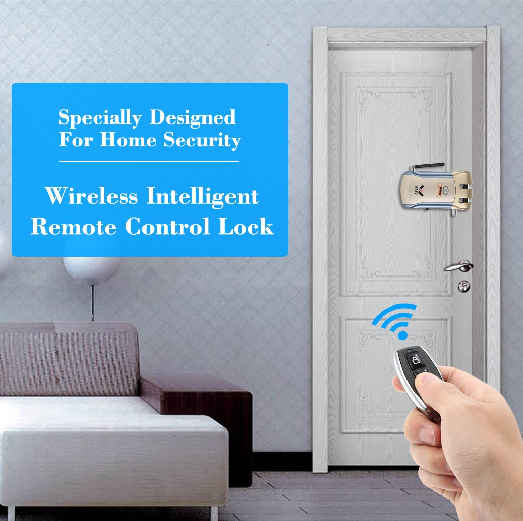 $10 OFF WAFU RC Invisible Keyless Entry Door Lock,free shipping $78.99