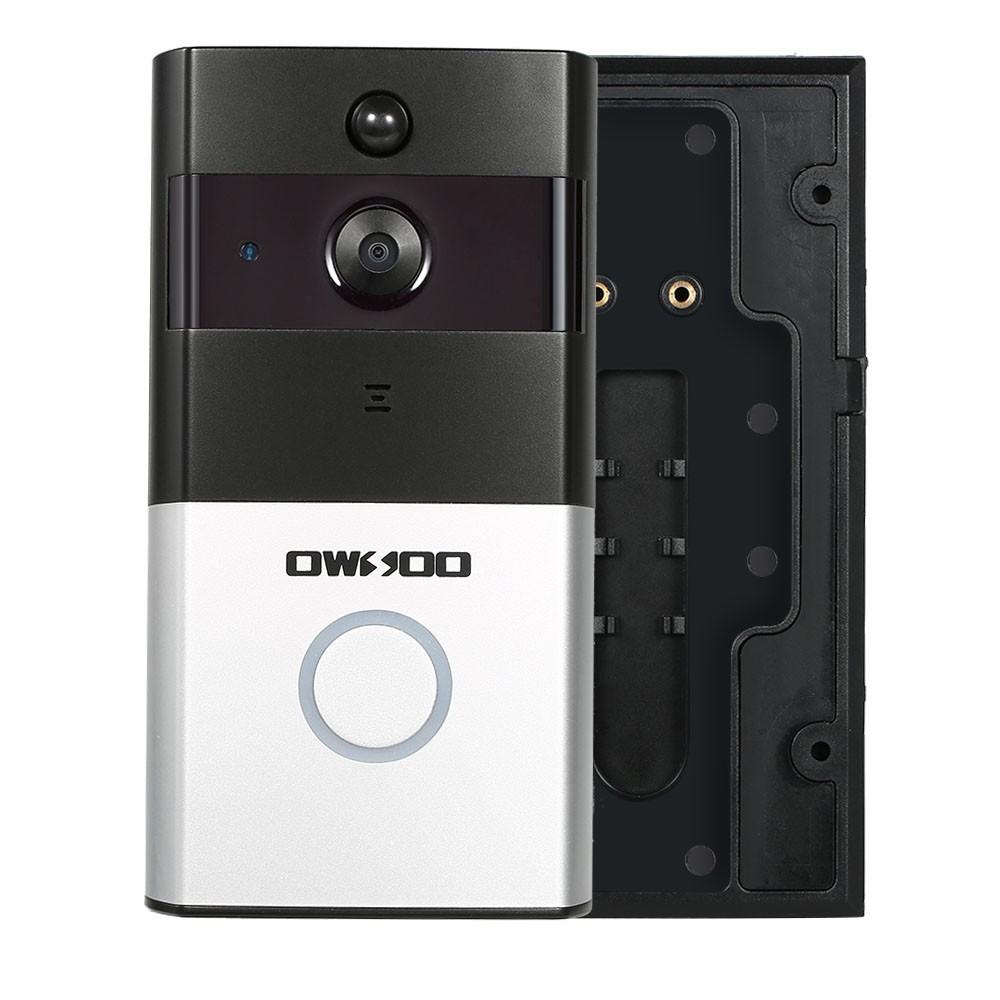 Owsoo 720p wifi intercomunicador de la puerta del tel fono for Puertas kiuso telefono