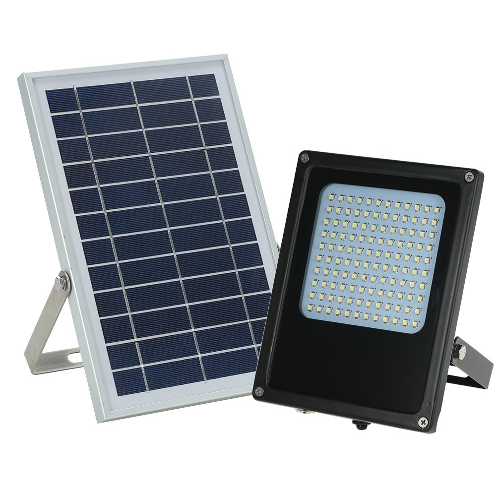 Tomtop - [EU Clearance Sale] 65% OFF Solar Powered Floodlight 120 LED Solar Lights, $29.99 (Inclusive of VAT)