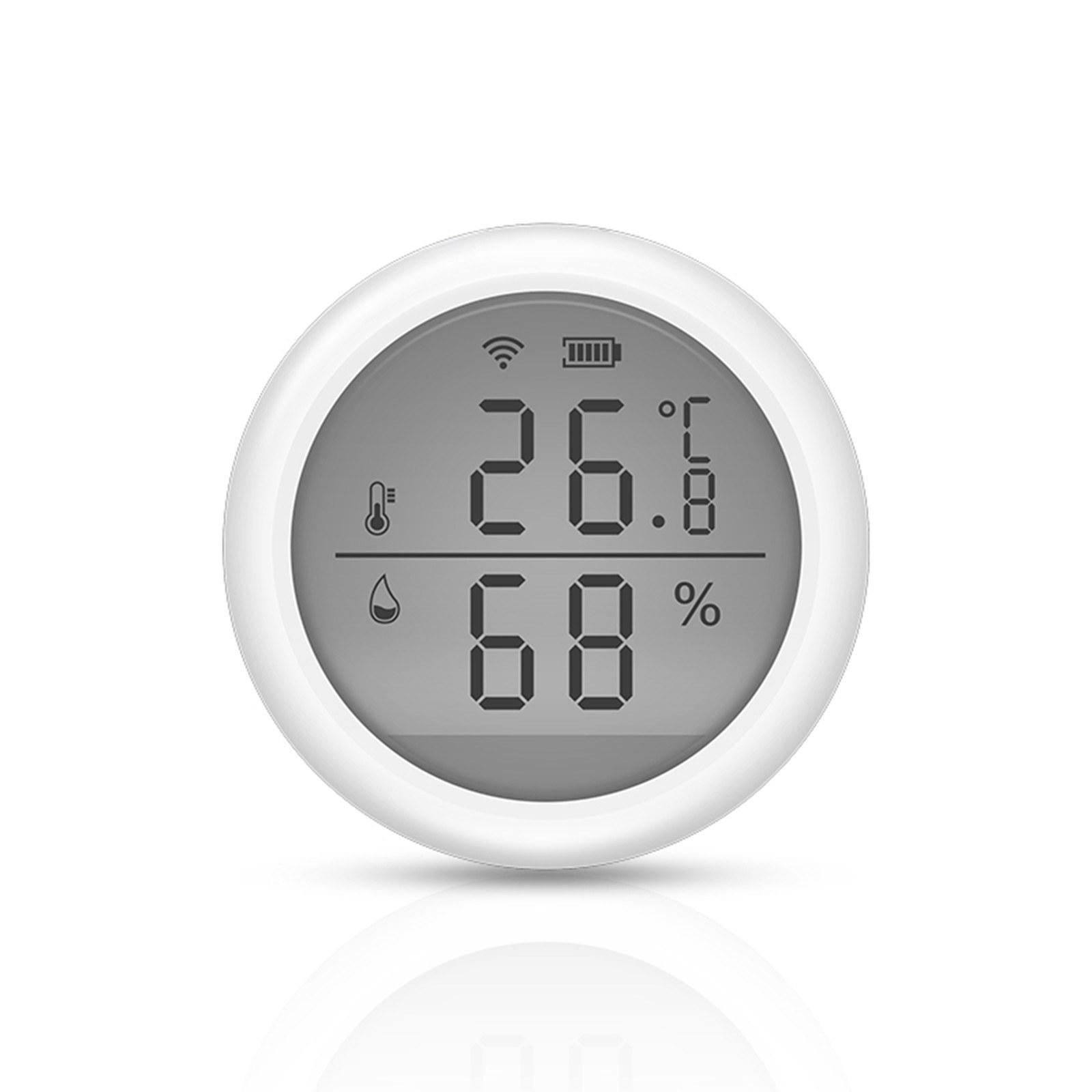 Tomtop - 49% OFF WiFi Smart Temperature Humidity Sensor Tuya APP Remote Control, $18.99 (Inclusive of VAT)