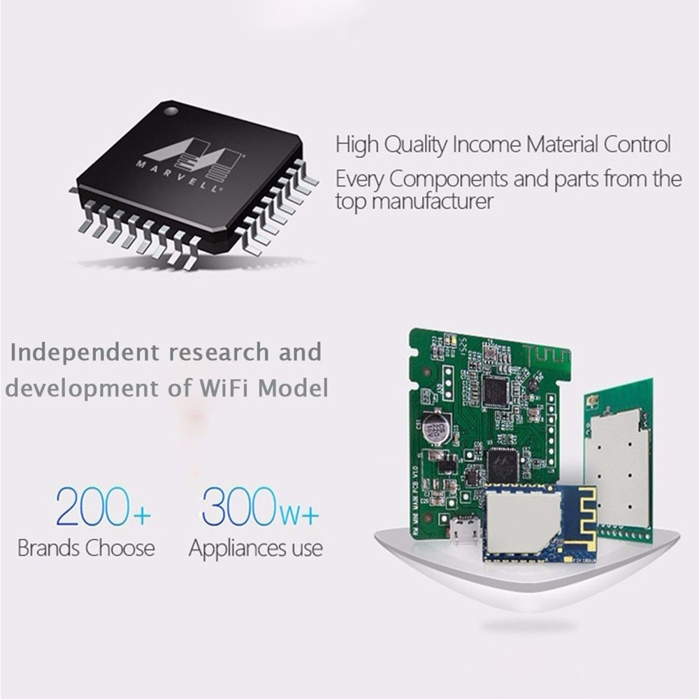Broadlink RM Portable Mini3 Universal WIFI IR Remote Controller