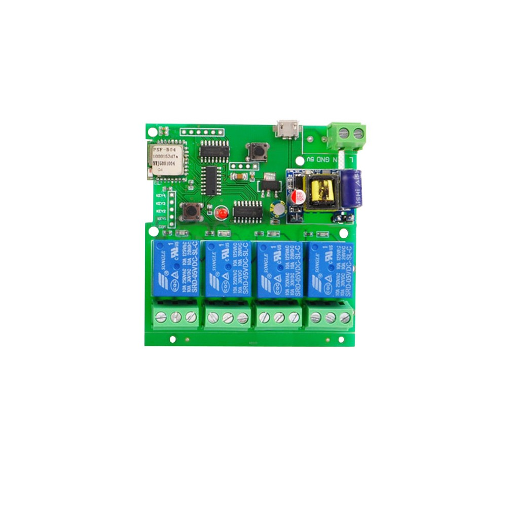 Sonoff Dc5v Ac85 220v Smart Remote Control Wireless Switch Universal Component Circuit What Do I Need Module Sales Online Tomtop