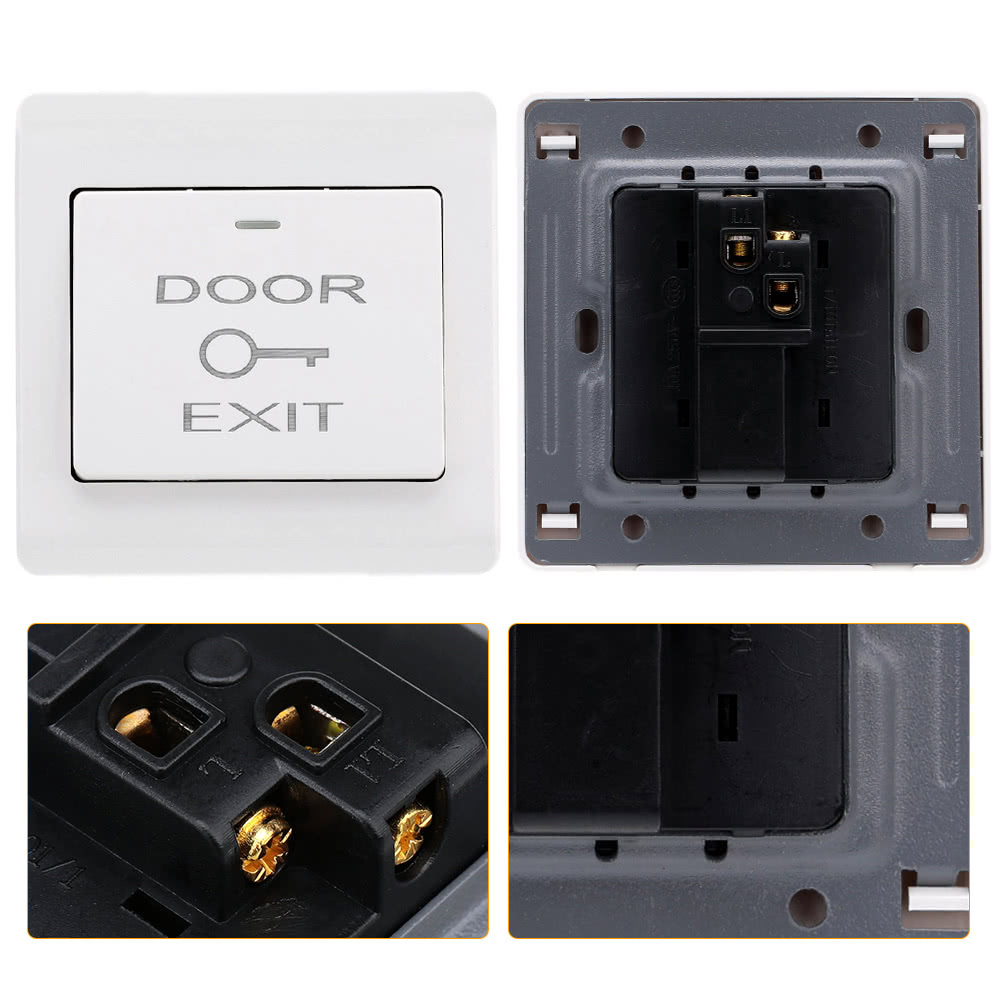 Best door entry access control white sale online shopping for Door access controller