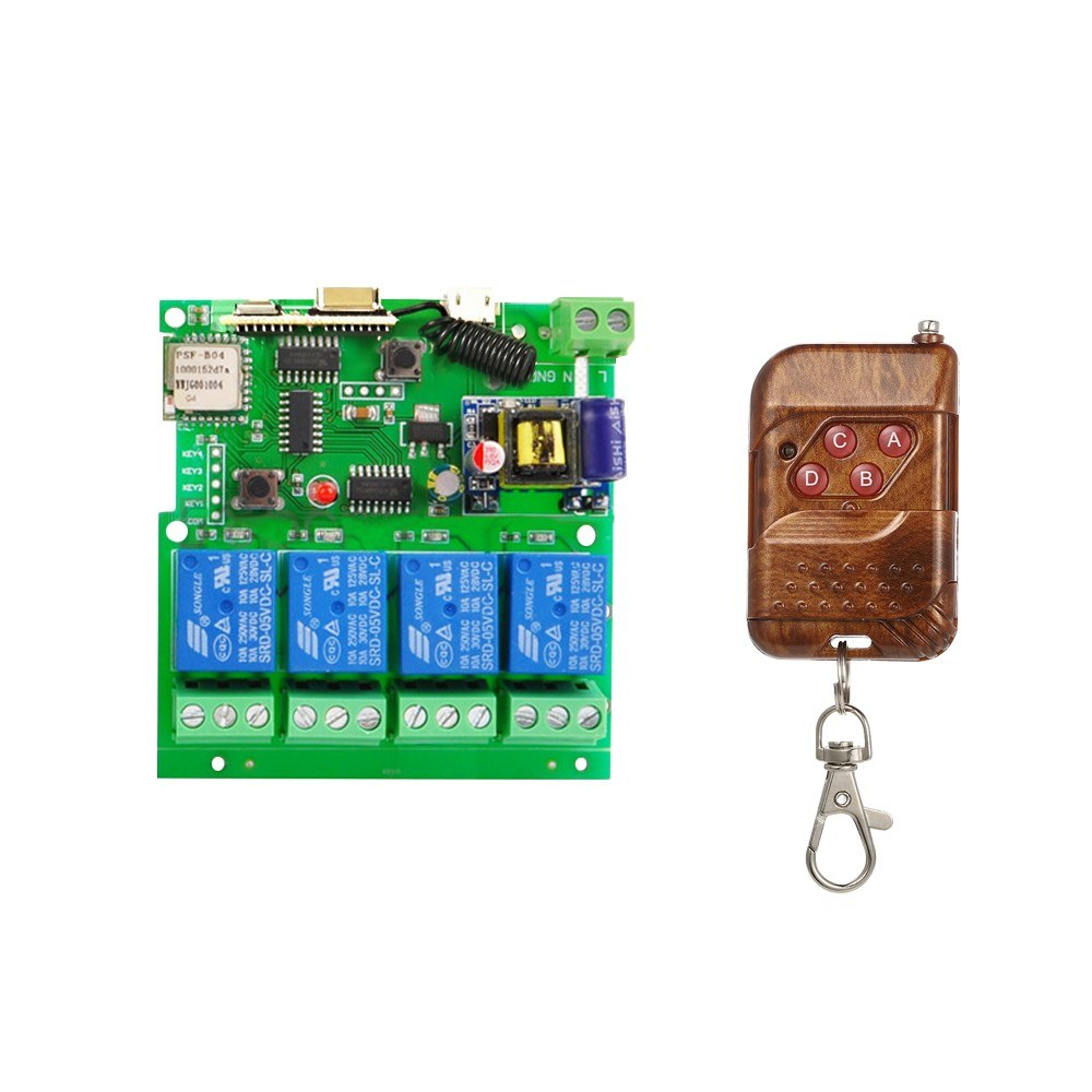 Best Sonoff 433mhz Smart Remote Control Wireless Sale Online Component Switch Circuit What Do I Need