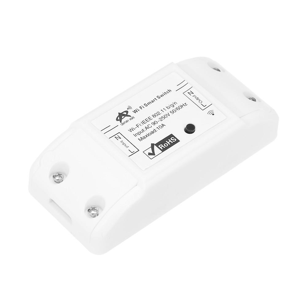 Best New Sonoff Wifi Switch 10a 2200w Wireless Remote Diy Smart Relay Module
