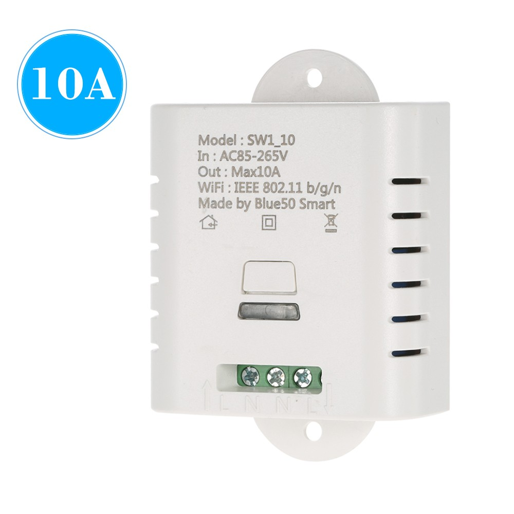 best wifi smart switch 10a wireless light timer 10 sale online shopping. Black Bedroom Furniture Sets. Home Design Ideas