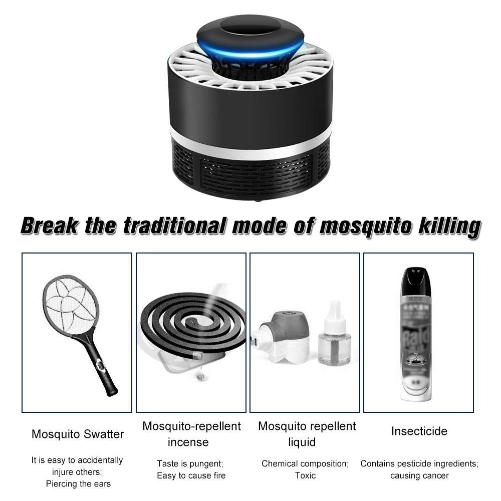 Usb Photocatalyst Mosquito Killer Lamp Sales Online Black Tomtop Swatter Electronics Hobby