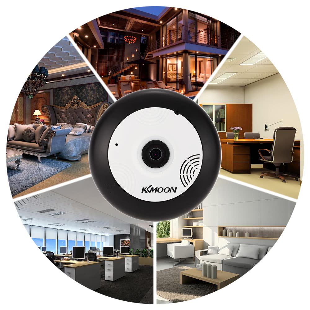 Best KKmoon® 360° Panoramic Fisheye Megapixels Wireless WiFi uk plug Sale  Online Shopping   Cafago com
