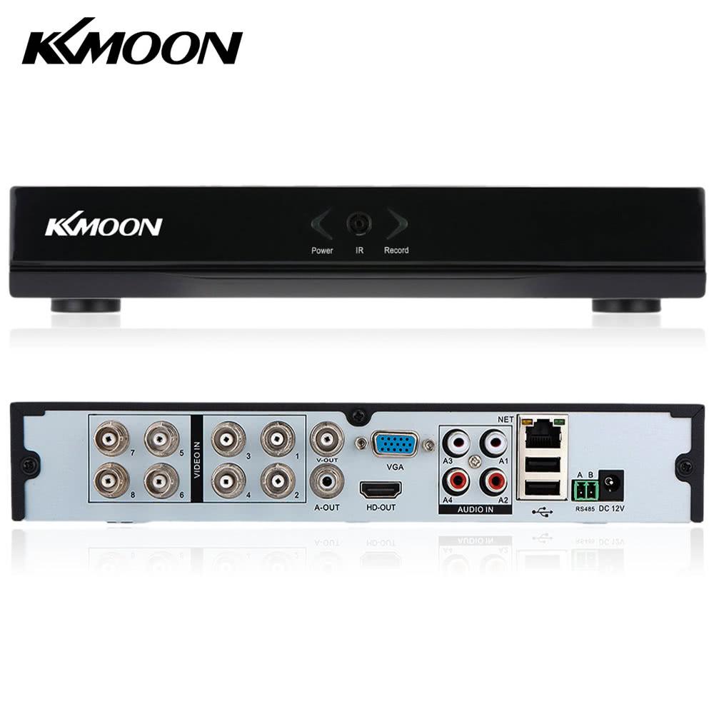 KKmoon 8Kanal 720P CCTV Netzwerk DVR Outdoor Sicherheits Digitaler Videorecorder